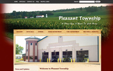 Pleasant Township website done in Wordpress